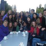 Visite du Musée d'Art moderne à Strasbourg avec les étudiants EM CLE de Strasbourg dans le cadre de Erasmus Mundus Association Day, 7 octobre 2012.