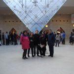 Voyage culturel à Paris des étudiants EM CLE, 22-26 janvier 2012.