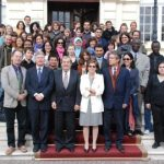Fête du C.L.E. – Master Erasmus Mundus. Cesenatico (Italie), 14-15 octobre 2009. Les étudiants de Mulhouse rencontrent leurs collègues de première et deuxième année de Strasbourg, Thessalonique et Bologne. Les professeurs présentent leur université