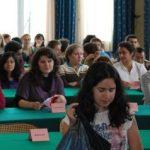 Les étudiants Erasmus Mundus de Mulhouse et l'équipe des enseignants au Séminaire d'analyse textuelle autour des Histoires tragiques de Rosset, les 15-17 octobre 2009