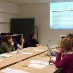 Les étudiants Erasmus Mundus CLE de Mulhouse, Séminaire du prof. Roger Parent (Université d'Alberta, Canada), Mulhouse 6 mai 2010