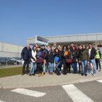 Mars 2016 - LEA3 reçus en visite chez Liebherr Mining à Colmar