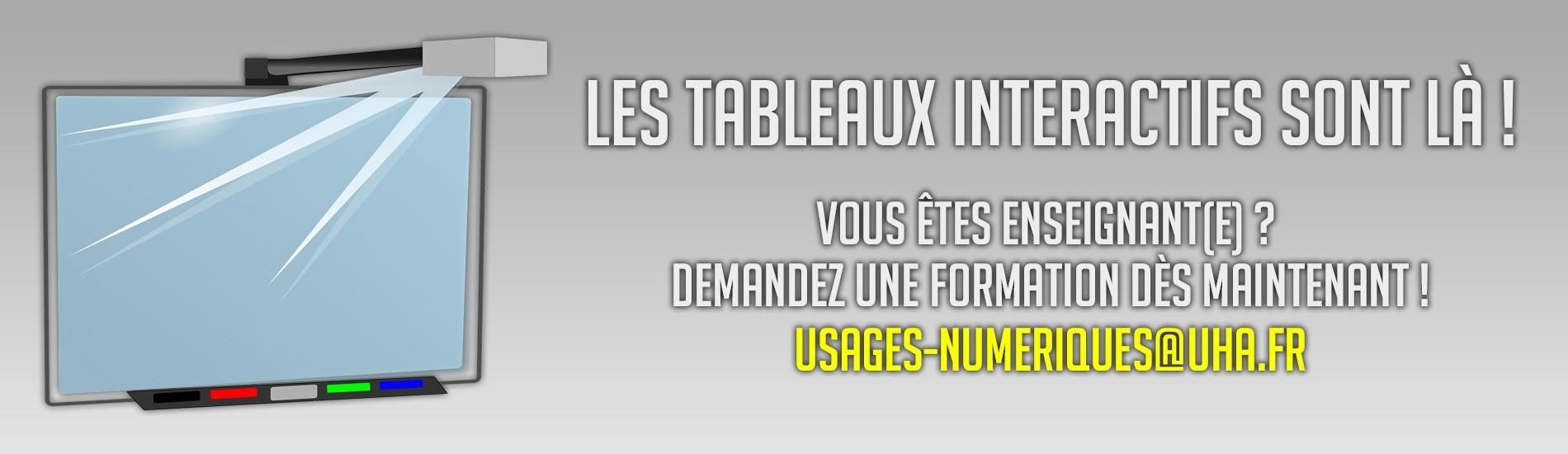 Tableaux Interactifs