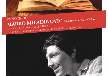 Conférences helvétiques, Rencontre avec Marko Miladinovic
