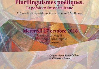 Journée d'études sur la poésie Suisse italienne